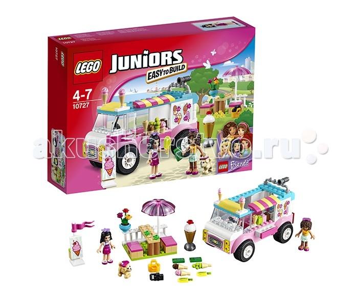 Lego Lego Juniors 10727 Лего Джуниорс Грузовик с мороженым Эммы конструктор lego джуниорс грузовик для дорожных работ