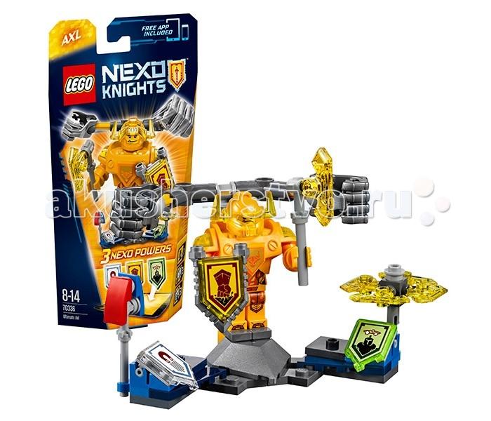 Lego Lego Nexo Knights 70336 Лего Нексо Аксель-Абсолютная сила lego nexo knights 70354 лего нексо бур машина акселя