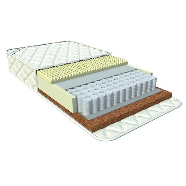Матрас Афалина Анатомик Relax Lanolin 120x60Анатомик Relax Lanolin 120x60Афалина Анатомик RELAX LANOLIN 120x60 см этот удобный матрас со spa – эффектом,который способствует правильному формированию осанки и изготовлен из безопасных для детей материалов.   В состав матраса входит: микрокапсулы мяты перечной с приятным запахом,не вызывающие у малыша аллергии и не раздражающие кожу. жаккард трикотажный,который состоит из нескольких слоев соединенных по технологии глубокой стёжки,придающий особый комфорт. независимый пружинный блок Puntoflex Comfort c плотностью 256 пружин на кв.м. Основным преимуществом этого блока является то,что каждая пружина находится в отдельном чехле,что исключает колебания конструкции. Матрас имеет различную жесткость сторон: Более жесткая сторона «Tonic»-идеально подходит для новорожденных.Состоит из 100% натурального кокосового наполнителя,который не вызывает аллергии и не дает изгибаться позвоночнику. более мягкая сторона «Relax»-массажная поверхность,идеальна для сна.Состоит из натуральной эластичной профилированной латексной пены из вспененного сока дерева, с рельефной поверхностью.   Детский матрас Афалина Анатомик RELAX LANOLIN 120x60 см безопасен для новорожденных детей.<br>