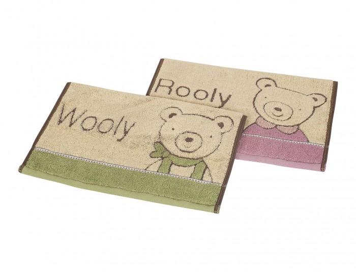 Полотенца Dream Time Набор из 2х полотенец Rooly&Wooly 34х34 см полотенца кухонные la pastel комплект полотенец 2 предмета 34х34 lines