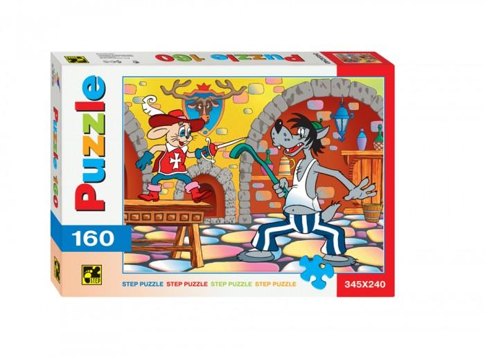 Пазлы Step Puzzle Пазлы Ну, Погоди! - Со шпагой 160 элементов пазлы crystal puzzle 3d головоломка вулкан 40 деталей