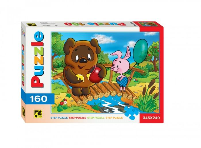 Пазлы Step Puzzle Пазлы Винни-Пух 160 элементов пазл 3d 60 элементов step puzzle disney винни пух 98108