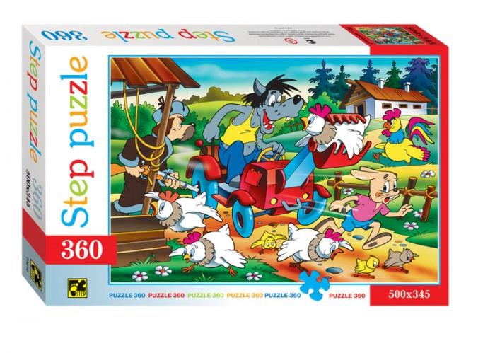 Пазлы Step Puzzle Пазлы Ну, Погоди! Птицеферма 360 элементов пазлы step puzzle 91305 ну погоди