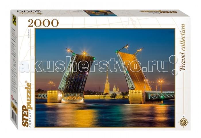 Пазлы Step Puzzle Пазл Санкт-Петербург 2000 элементов пазл 3d 60 элементов step puzzle disney винни пух 98108