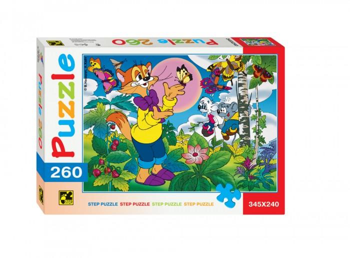 Пазлы Step Puzzle Пазл Кот Леопольд 260 элементов умка развивающие пазлы кот леопольд и малыши 15 дет в рамке умка