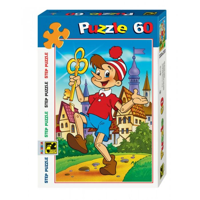 Пазлы Step Puzzle Пазл Золотой ключик 60 элементов пазл 3d 60 элементов step puzzle disney винни пух 98108
