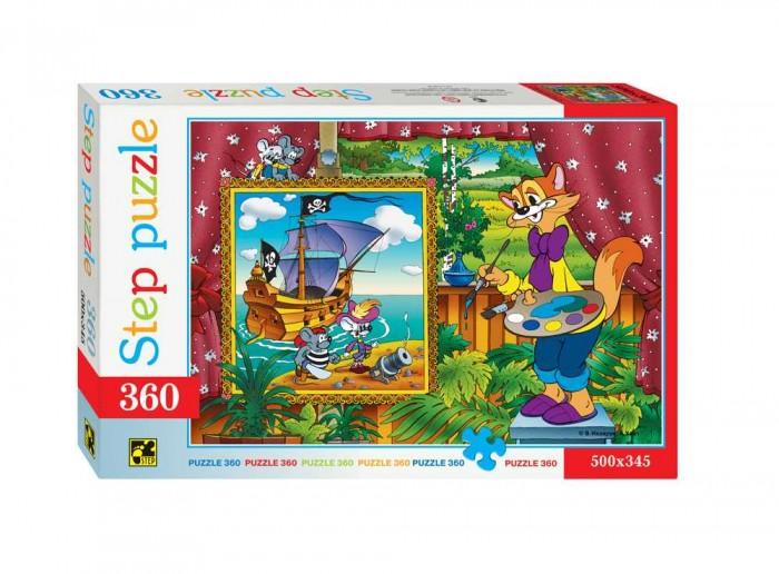 Пазлы Step Puzzle Пазл Кот Леопольд 360 элементов пазл 3d 60 элементов step puzzle disney винни пух 98108