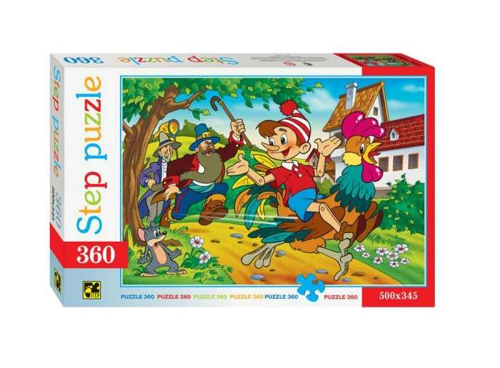 Пазлы Step Puzzle Пазл Буратино 360 элементов пазл 360 элементов step puzzle