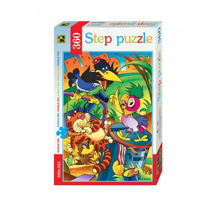 Пазлы Step Puzzle Пазл Попугай Кеша 360 элементов  пазл 360 элементов step puzzle