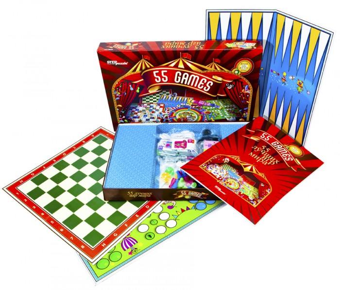 Настольные игры Step Puzzle Настольные игры 55 лучших игр мира