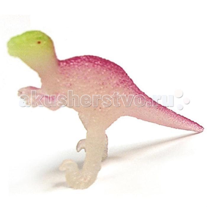 Игровые наборы Geoworld Мини-набор палеонтолога Велоцираптор 6.5 см (светится в темноте) конструкторы geoworld яйца динозавра юрский период спинозавр