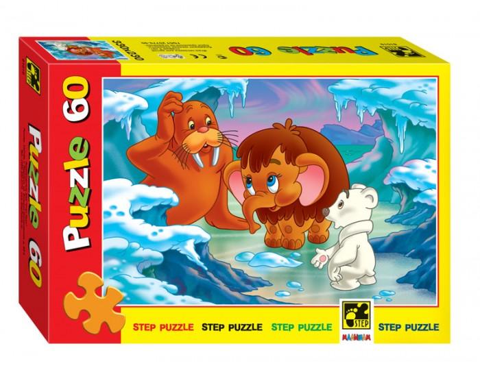 Пазлы Step Puzzle Пазл Мамантенок 60 элементов puzzle 500 яркие совы alpz500 7701