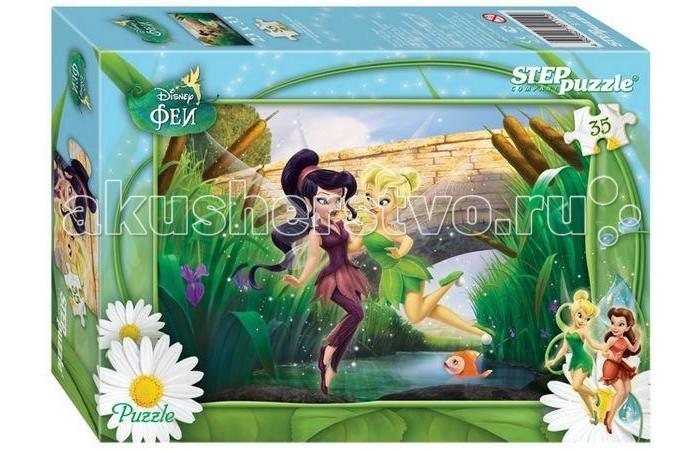 Пазлы Step Puzzle Пазл Феи 35 элементов пазл 3d 60 элементов step puzzle disney винни пух 98108