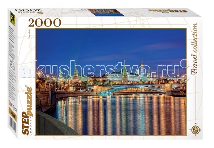 Пазлы Step Puzzle Пазл Москва Набережная 2000 элементов огни столицы москва территория призраков