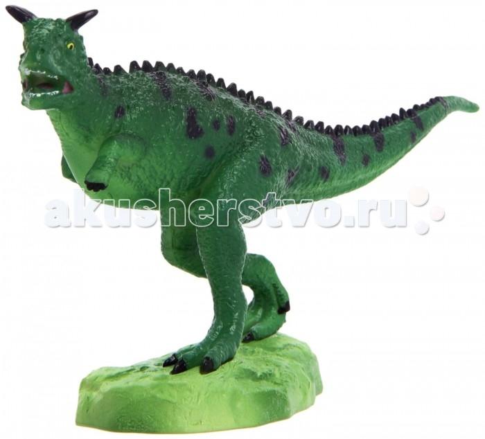 Игровые фигурки Geoworld Фигурка динозавра Jurassic Hunters - Карнотавр конструкторы geoworld сборная модель динозавра в яйце jurassic eggs стигимолох n14 деталей