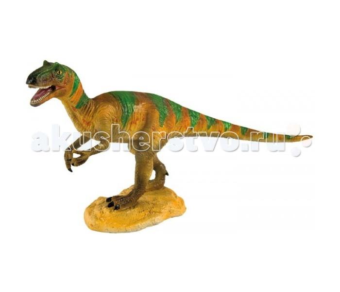 Игровые фигурки Geoworld Фигурка динозавра Jurassic Hunters - Аллозавр пазл 4d tricerators серия юрский период geoworld