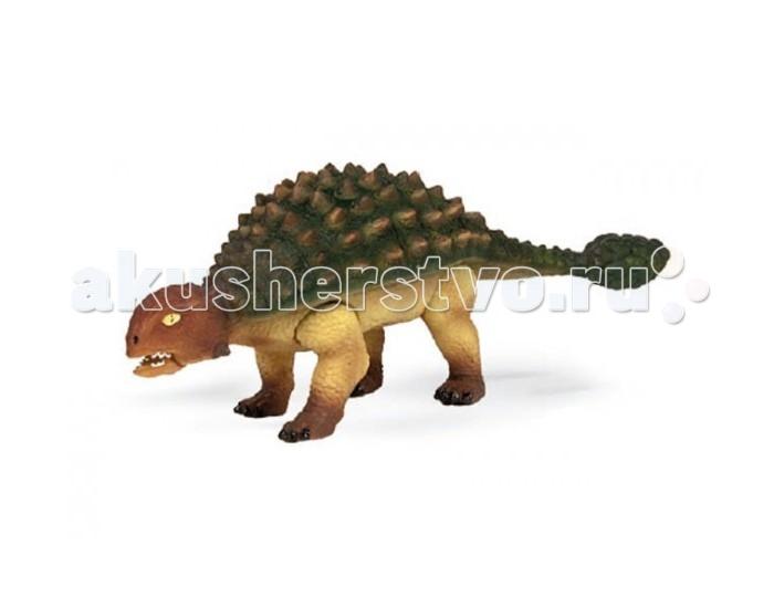 Игровые фигурки Geoworld Фигурка Jurassic Action Динозавр - Анкилозавр конструкторы geoworld яйца динозавра юрский период спинозавр