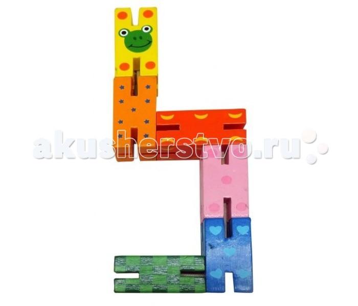Деревянные игрушки Mapacha Логическая игрушка Змейка