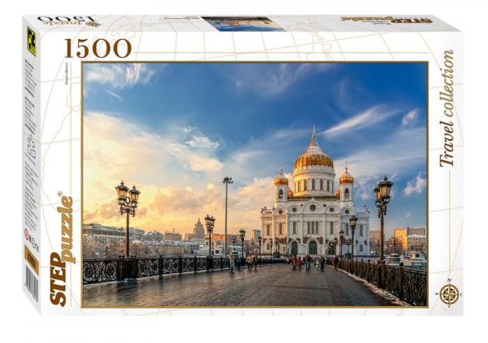 Пазлы Step Puzzle Пазл Москва Храм Христа Спасителя 1500 элементов