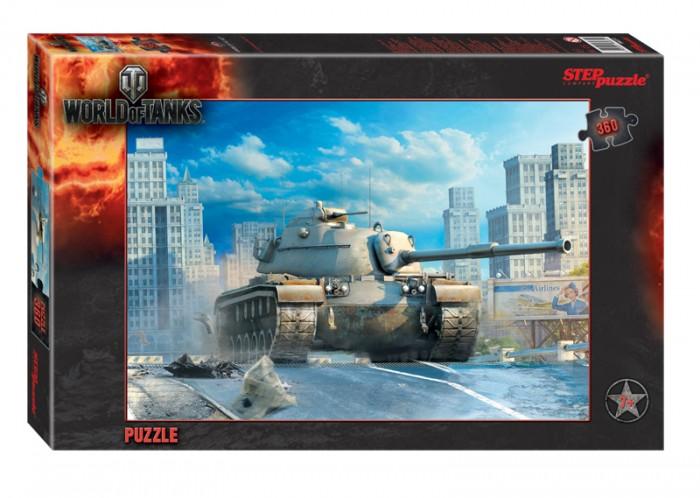 Пазлы Step Puzzle Пазл World of Tanks 360 элементов пазлы step puzzle пазл world of tanks 260 элементов