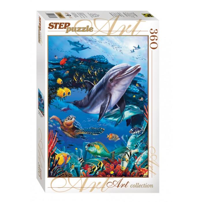 Пазлы Step Puzzle Пазл Подводный мир 360 элементов пазл step puzzle развивающие паззлы союзмультфильм путешествие в мир добра в асс 76064