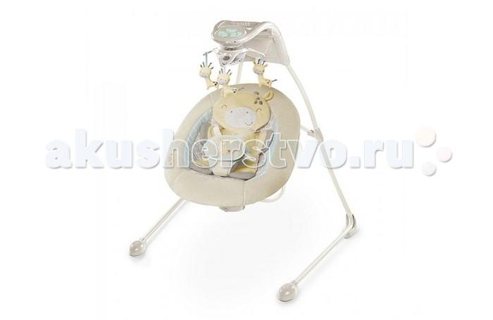 Детская мебель , Электронные качели Bright Starts InGenuity Жирафик арт: 180148 -  Электронные качели