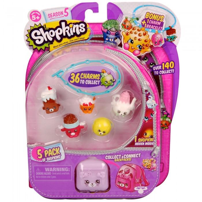 Игровые наборы Shopkins Игровой набор: 5 фигурок с аксессуарами shopkins игровой набор gym fashion