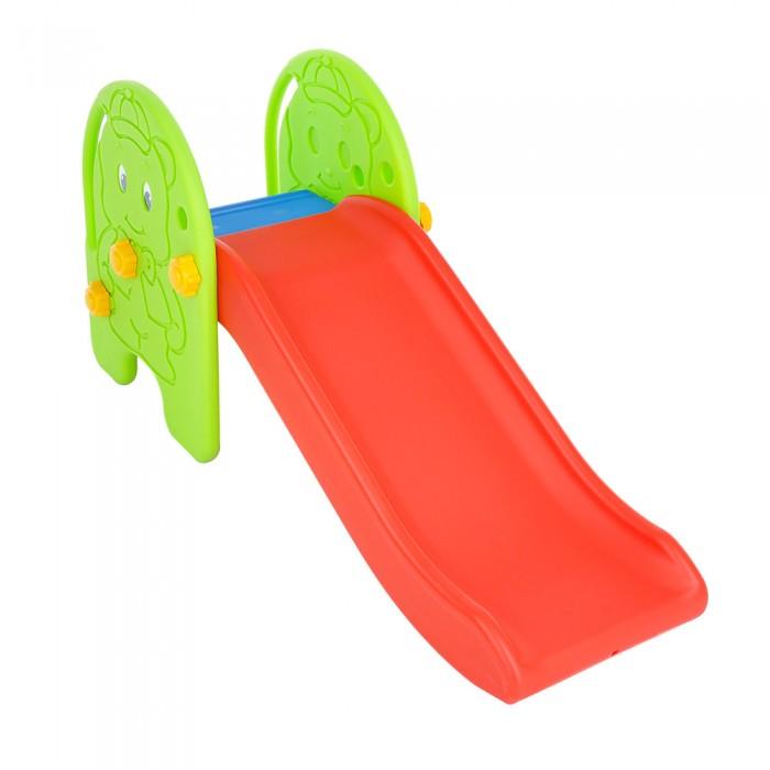 Горка Edu-Play Мишка WJ-307Мишка WJ-307Горка Edu-Play Мишка в комплекте с баскетбольной корзиной и мячом, предназначена для игр на улице и в помещении. Дизайн горки разработан для постоянного движения, что способствует развитию координации и различных групп мышц ребенка. Подходит для игр одного или нескольких детей.  Детская горка очень подойдет для дачи. Изготовлена из прочного экологически чистого пластика, безопасного для людей, конструкция прочная и надежная, прослужит долгие годы.  В комплекте: 2 боковые панели с фактурным изображением Мишки Желоб для скатывания Лесенка Большие пластиковые гайки для крепежа Наклейки<br>