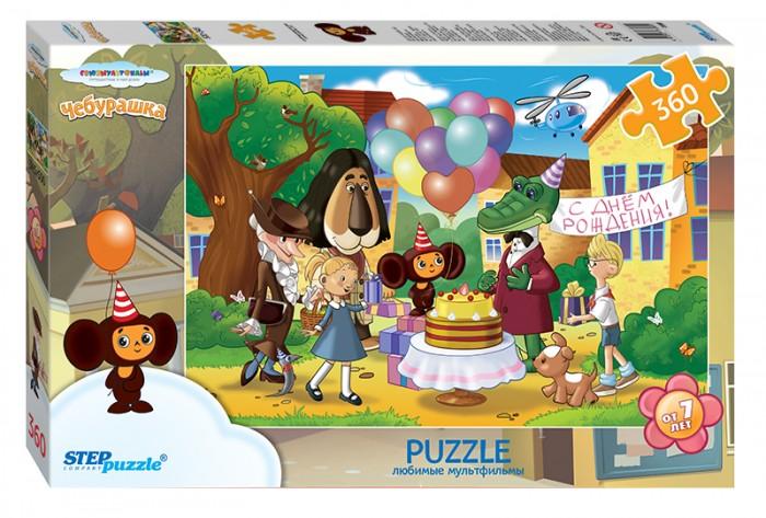 Пазлы Step Puzzle Пазл Чебурашка 360 элементов пазл 360 элементов step puzzle
