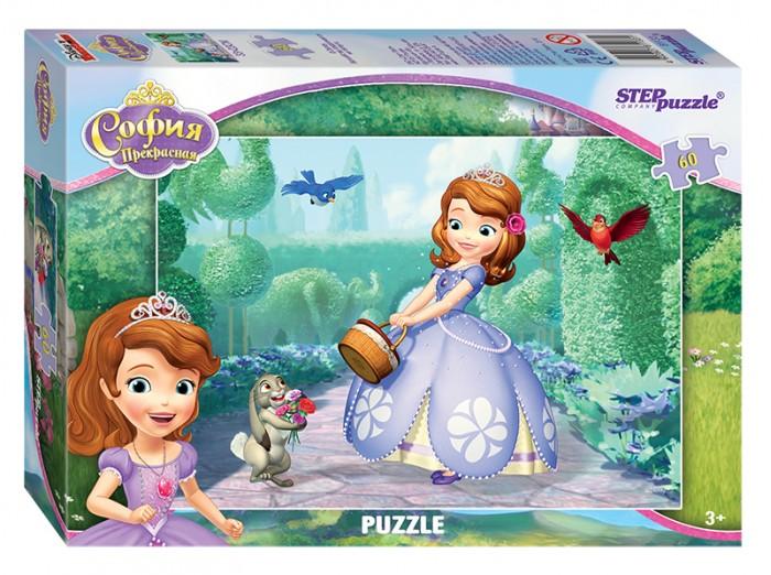 Пазлы Step Puzzle Пазл Принцесса София 60 элементов пазлы crystal puzzle 3d головоломка вулкан 40 деталей