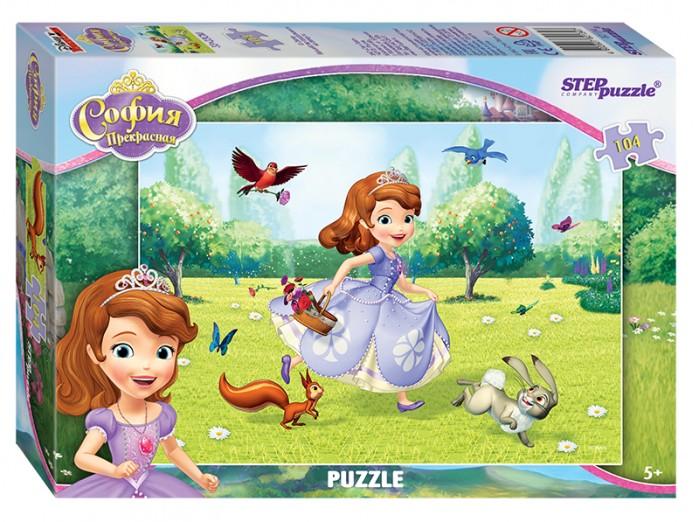 Пазлы Step Puzzle Пазл Принцесса София 104 элемента пазлы step puzzle пазл принцесса софия 160 элементов