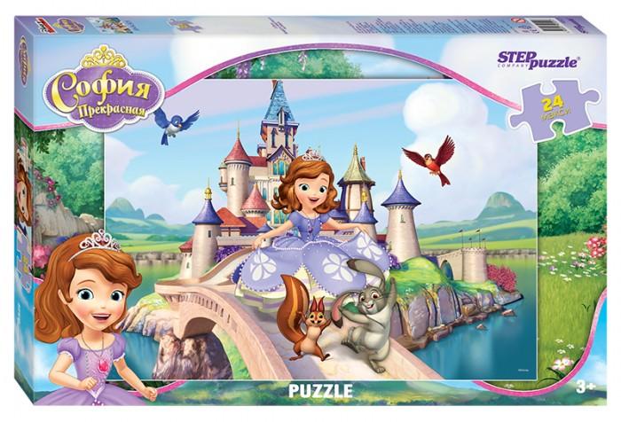 Пазлы Step Puzzle Пазл Принцесса София 24 элемента пазлы step puzzle пазл лунтик 24 элемента