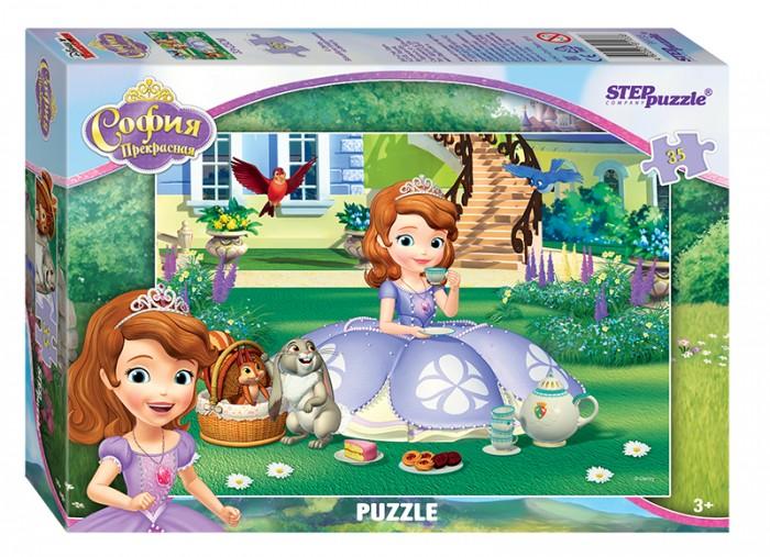 Пазлы Step Puzzle Пазл Принцесса София 35 элементов пазл 3d 60 элементов step puzzle disney винни пух 98108