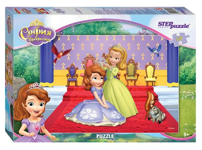 Пазлы Step Puzzle Пазл Принцесса София 160 элементов пазлы crystal puzzle 3d головоломка вулкан 40 деталей