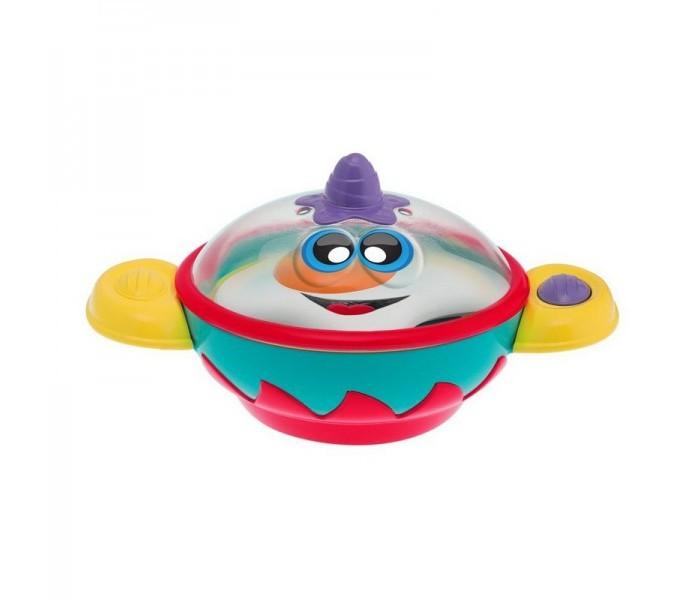 Музыкальные игрушки Chicco Кастрюлька Стэн 6-36 месяцев интерактивная игрушка chicco музыкальная лейка от 6 месяцев разноцветный 07700