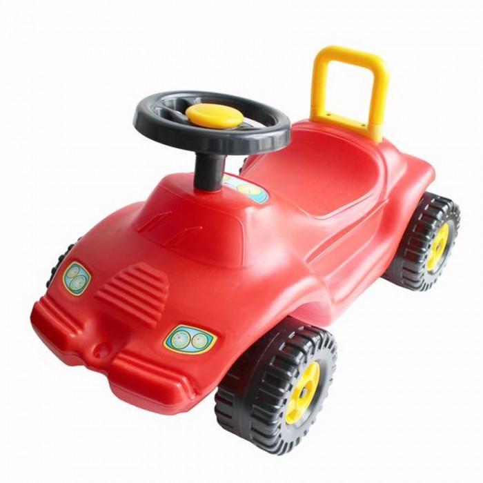Каталка Спектр Автомобиль ГонкаАвтомобиль ГонкаАвтомобиль-каталка Гонка доставит массу удовольствия ребенку, ведь возможно эта игрушка станет его первым транспортом, который он сможет водить самостоятельно.    У игрушки яркий оригинальный дизайн, напоминающий вид гоночного автомобиля, удобные подставки для ног, руль, мощные колеса и надежная спинка. С помощью этой машины ребенок сможет не только весело проводить время, но и развивать опорно-двигательный аппарат. Каталку удобно использовать как дома, так и на улице.<br>