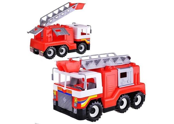 Машины Спектр Пожарная машина пламенный мотор машинка инерционная volvo пожарная охрана