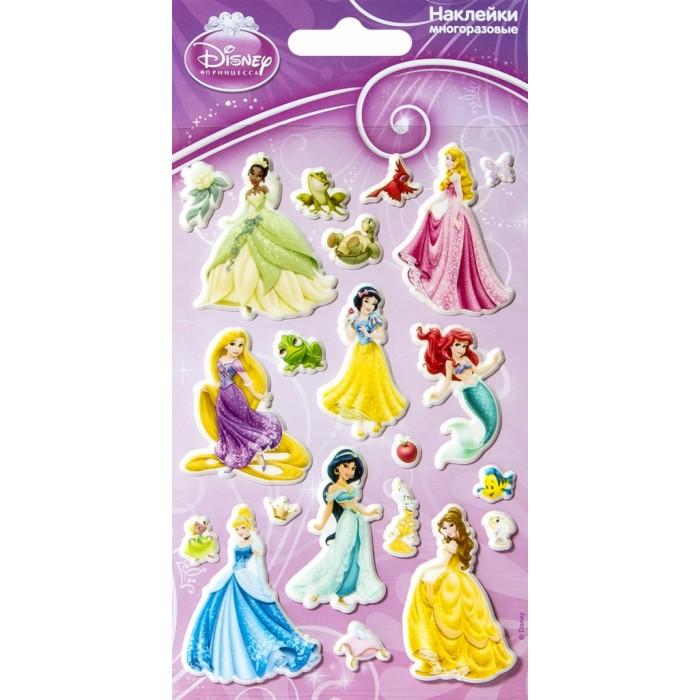 Детские наклейки Липляндия Набор наклеек Дисней Принцессы наклейки детские disney набор наклеек принцессы дисней 2