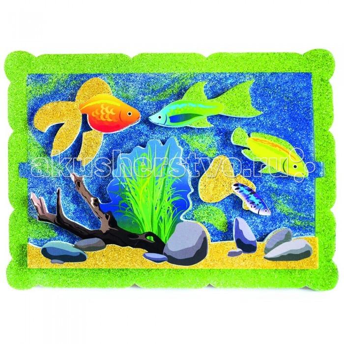 Наборы для творчества Pic`n Mix Аппликация Аквариумные рыбки  наборы для творчества pic n mix аппликация новогодняя елочка