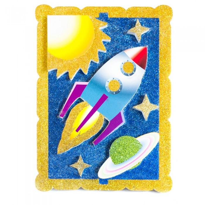 Наборы для творчества Pic`n Mix Аппликация Космическое путешествие  наборы для творчества pic n mix аппликация новогодняя елочка