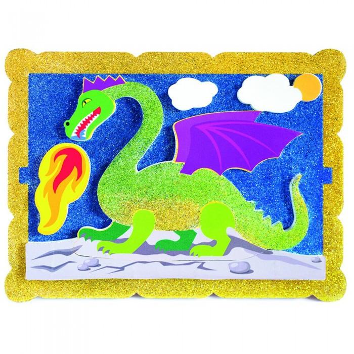 Наборы для творчества Pic`n Mix Аппликация Волшебный дракон  наборы для творчества pic n mix аппликация новогодняя елочка