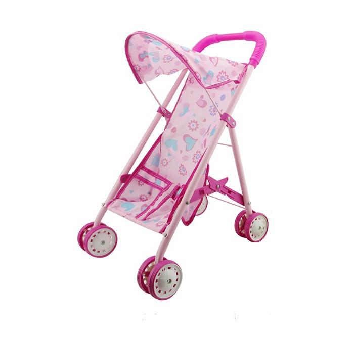 Коляски для кукол 1 Toy прогулочная Т58752 прогулочная коляска cool baby kdd 6699gb t fuchsia light grey