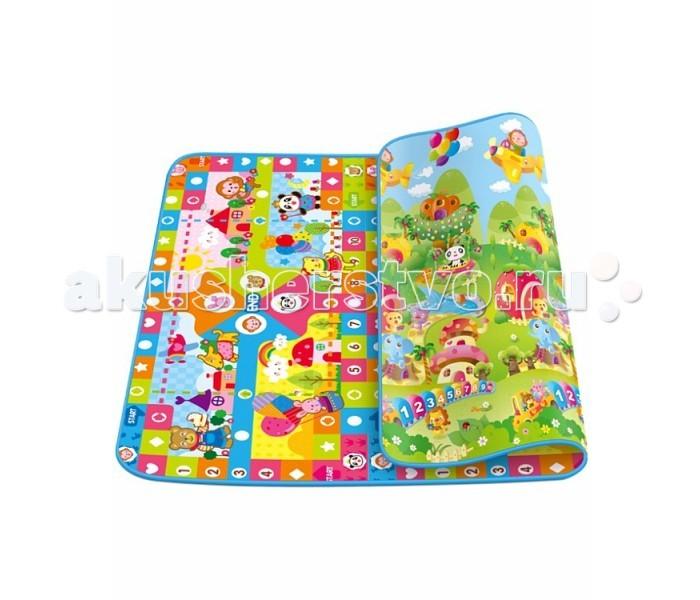 Игровой коврик Mambobaby Волшебный зоопарк и Весёлые зверятаВолшебный зоопарк и Весёлые зверятаРазвивающий коврик Mambobaby Волшебный Зоопарк + Весёлые зверята - яркий развивающий детский коврик для детей от 6 месяцев до 3 лет. Коврик подойдёт для игр, развития и ползания вашего ребенка.Такой коврик можно постелить на даче, дома или даже использовать в саду. Яркие картинки на коврике привлекают внимание ребенка.   Особенности: Двухсторонний Изготовлен из безопасных материалов, без запаха, не токсичных Сворачивается, легко и удобно переносится Сбалансированная мягкость и жёсткость Коврик легко помыть влажной тряпкой Имеет свойства влагозащиты и теплоизоляции Материал: полиэстер - алюминиевая пленка (нижний слой) обладает свойствами влаго - и теплоизоляции. Пористый полиэтилен (средний слой) способствует укреплению позвоночника, теплоизолирующий и упругий Соответствует государственным требованиям безопасности игрушек G 675-2003<br>