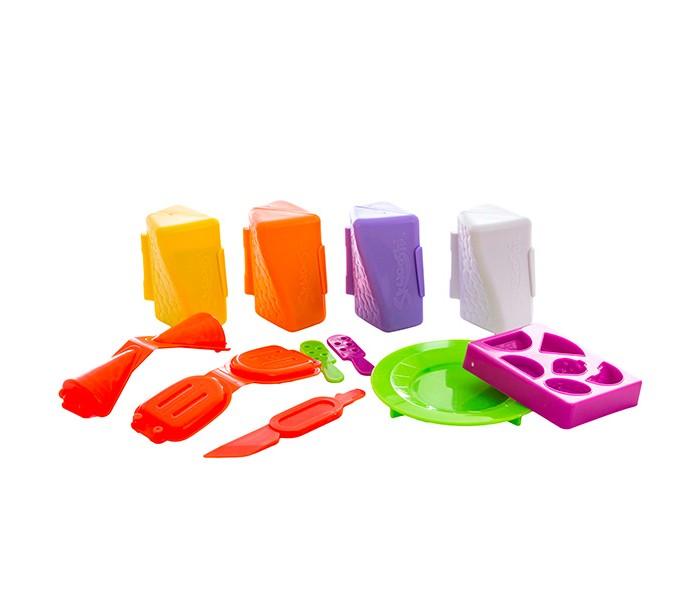 Всё для лепки Skwooshi Набор для творчества Масса для лепки Мороженое skwooshi набор для лепки с аксессуарами бургер