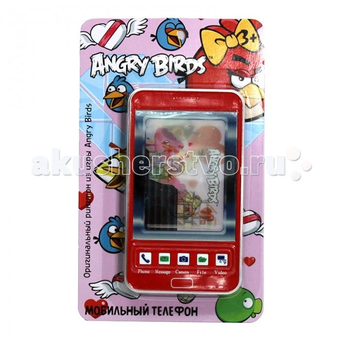 цены  Электронные игрушки 1 Toy Детский мобильный телефон Angry Birds Т55639