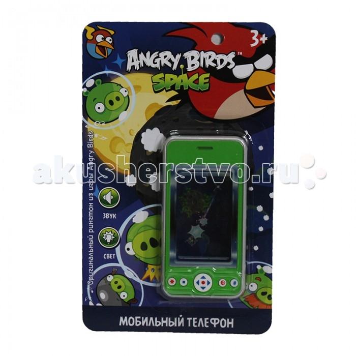 купить Электронные игрушки 1 Toy Детский мобильный телефон Angry Birds Т55642 недорого