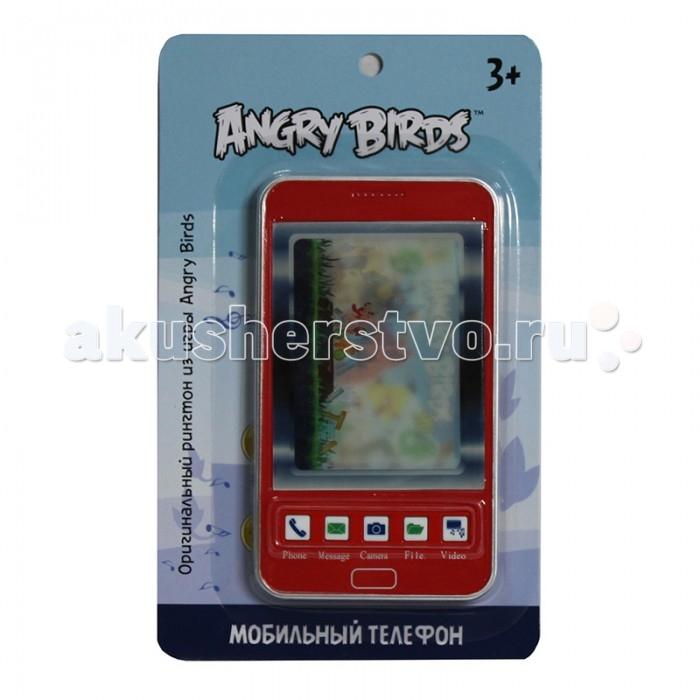 Электронные игрушки 1 Toy Детский мобильный телефон Angry Birds Т55640