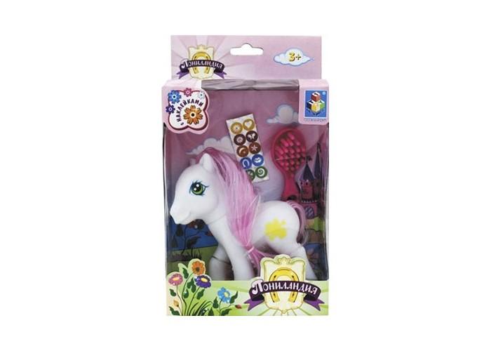 Игровые наборы 1 Toy Игровой набор Пониландия Пони с аксессуарами эксмо пони с наклейками