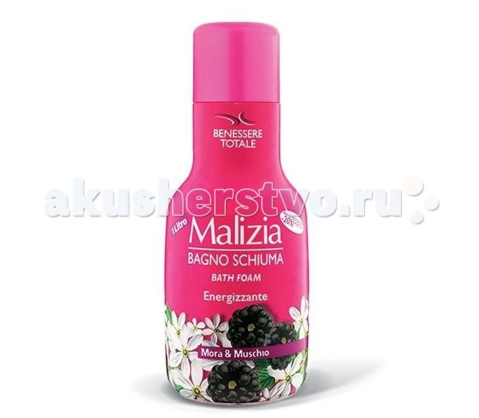 Косметика для мамы Malizia Пена для душа и ванны мускус и ежевика Mora & Muschio 1 л косметика для мамы malizia пена для душа и ванны молоко milk 1 л