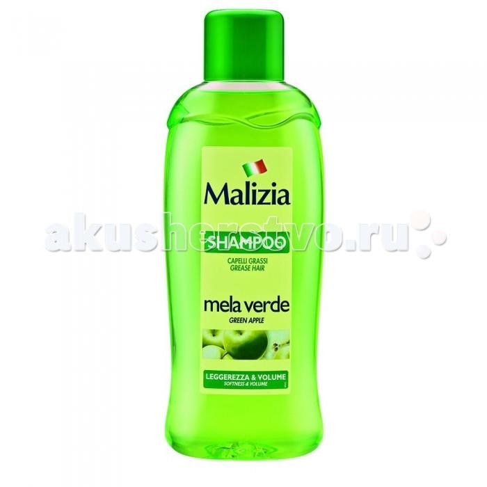 Фото Косметика для мамы Malizia Шампунь для жирных волос Fresca Vitalita  Яблоко 1л
